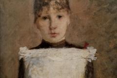 Franzoni - Ritratto giovanile della domestica Margherita Massera